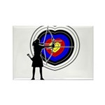 Archery5 Rectangle Magnet (100 pack)