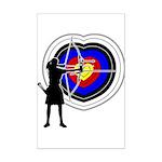 Archery5 Mini Poster Print