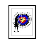 Archery5 Framed Panel Print