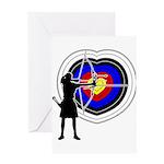 Archery5 Greeting Card