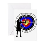 Archery5 Greeting Cards (Pk of 20)