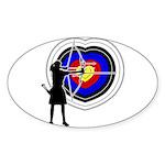 Archery5 Sticker (Oval 10 pk)