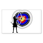 Archery5 Sticker (Rectangle)