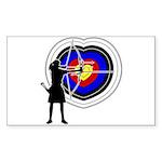 Archery5 Sticker (Rectangle 10 pk)