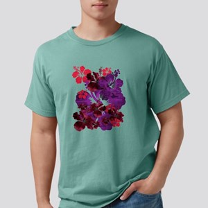 Hibiscus Mens Comfort Colors Shirt