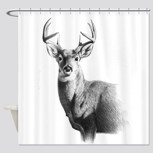 Whitetail Deer Shower Curtains