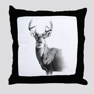 Whitetail Throw Pillow