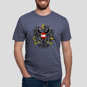 Austria Coat of Arms Mens Tri-blend T-Shirt
