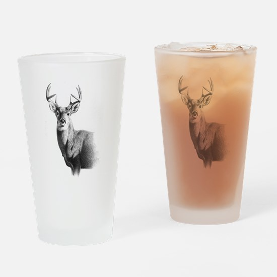 Whitetail Drinking Glass