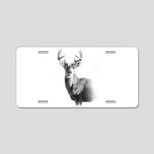 Whitetail Aluminum License Plate