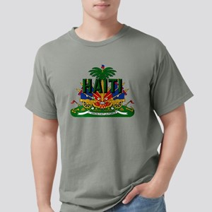 Haitian Coat of Arms Mens Comfort Colors Shirt