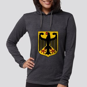 German Coat of Arms Womens Hooded Shirt