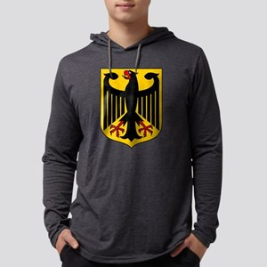 German Coat of Arms Mens Hooded Shirt