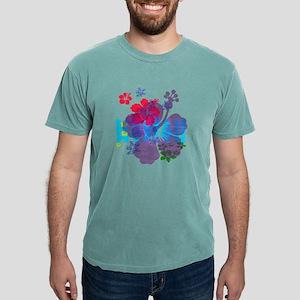 Hawaii Hibiscus Mens Comfort Colors® Shirt