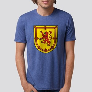 Royal Arms of Scotland Mens Tri-blend T-Shirt