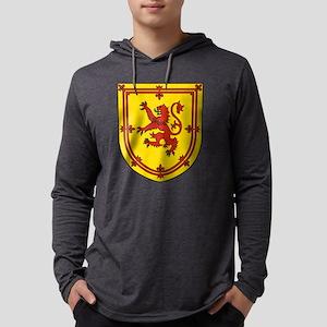 Royal Arms of Scotland Mens Hooded Shirt