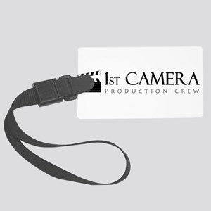 First 1st Camera Large Luggage Tag