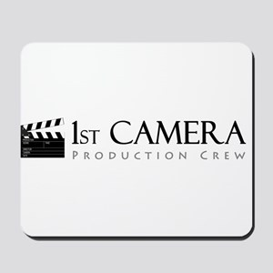 First 1st Camera Mousepad