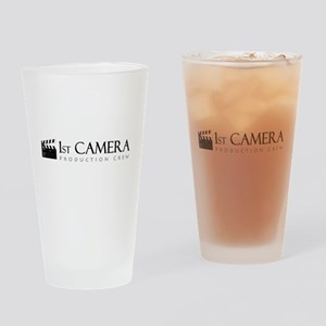 First 1st Camera Drinking Glass