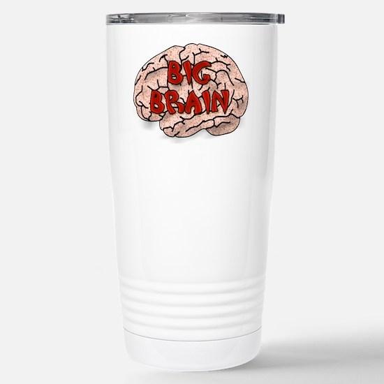 Big Brain Stainless Steel Travel Mug