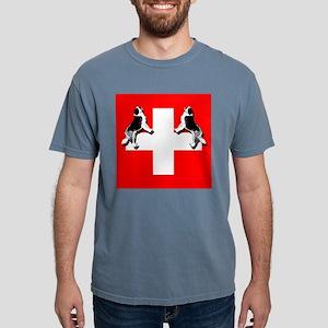 Swiss St. Bernards Mens Comfort Colors Shirt