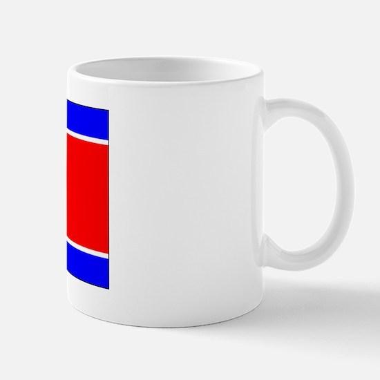 North Korean Blank Flag Mug
