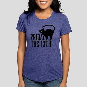 Friday the 13th Womens Tri-blend T-Shirt