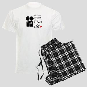 Bromance Hug Men's Light Pajamas