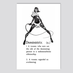 Dominatrix... Postcards (Package of 8)