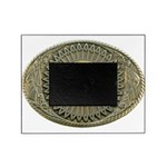 Indian gold oval 2 Picture Frame