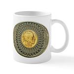 Indian gold oval 2 Mug