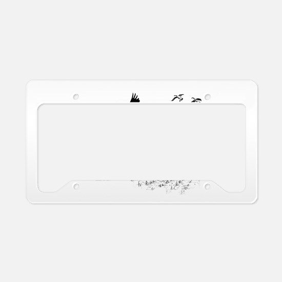 Canadian Geese License Plate Holder