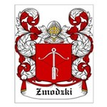 Zmodzki Coat of Arms Small Poster