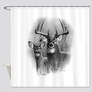 Big Buck Shower Curtain