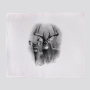 Big Buck Throw Blanket