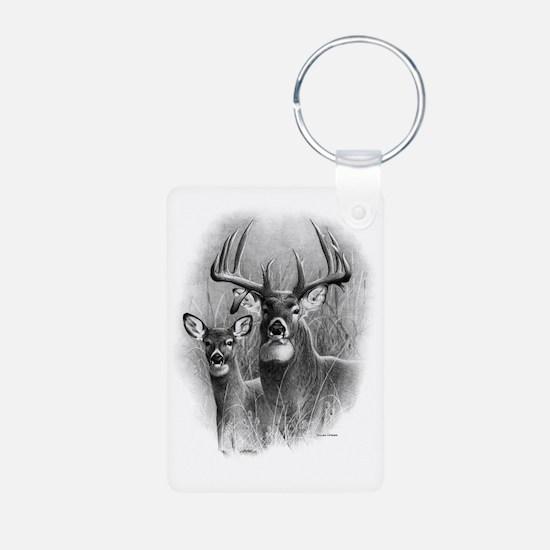 Big Buck Aluminum Photo Keychain