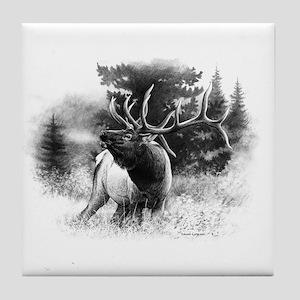 Elk Bugle Tile Coaster