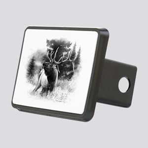Elk Bugle Rectangular Hitch Cover
