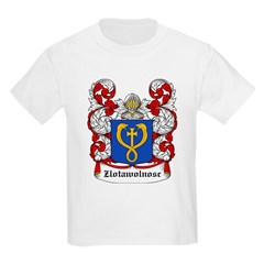 Zlotawolnosc Coat of Arms Kids T-Shirt