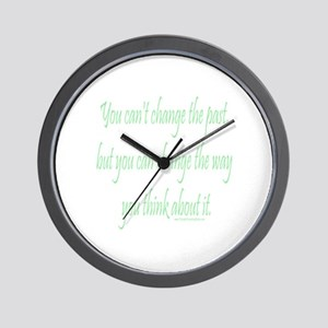 Wisdom - Can't Change Past Wall Clock