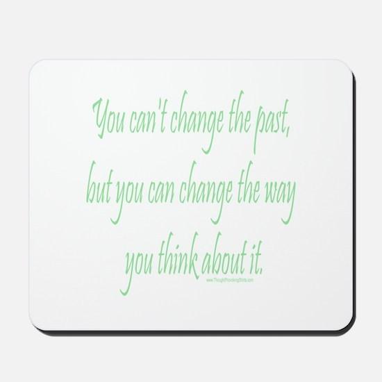 Wisdom - Can't Change Past Mousepad