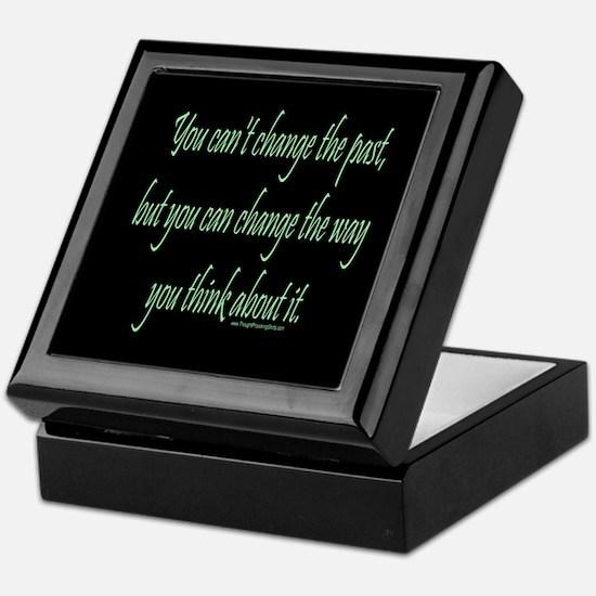 Wisdom - Can't Change Past Keepsake Box