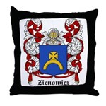 Zienowicz Coat of Arms Throw Pillow