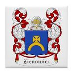 Zienowicz Coat of Arms Tile Coaster