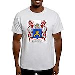 Zienowicz Coat of Arms Ash Grey T-Shirt