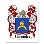 Zienowicz Coat of Arms Small Poster