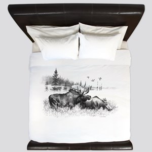 Moose King Duvet