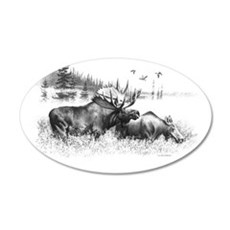 Moose Wall Decal