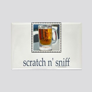 Scratch n' Sniff Beer Rectangle Magnet