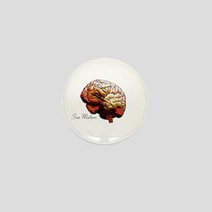 Brain Mini Button